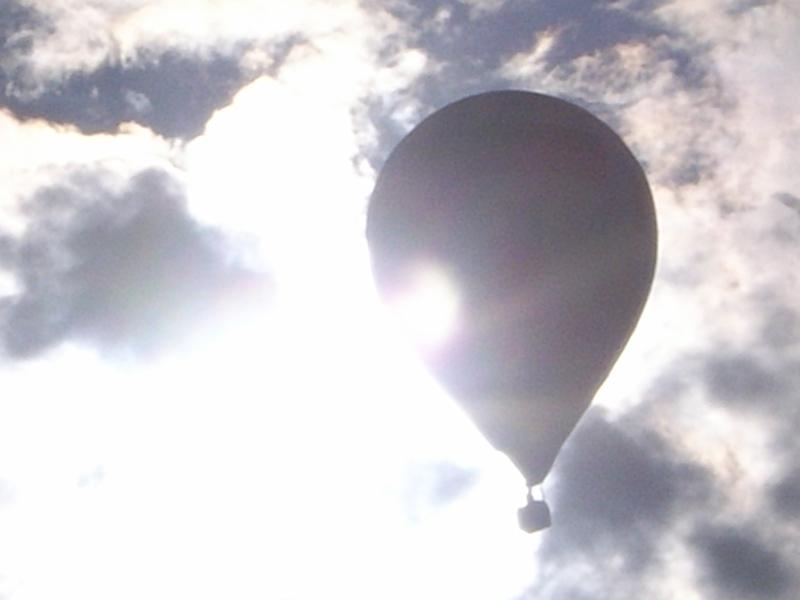 Voraussetzungen für eine Ballonfahrt